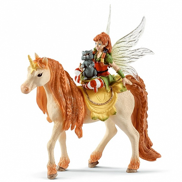 Schleich Fairy and Unicorn