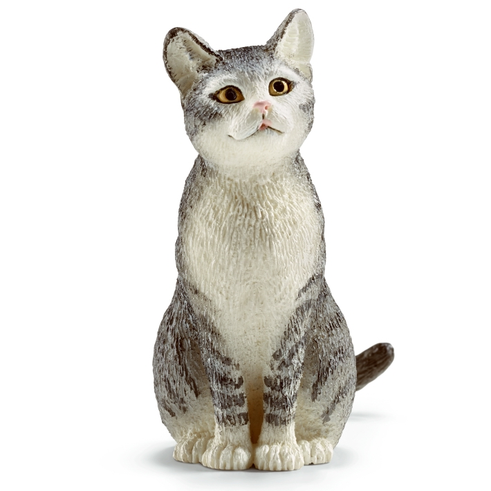 Schleich Cat Sitting 13771