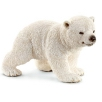 Schleich Toy Polar Bear Cub Walking