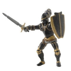Papo Knight in Black Armour 39275