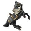 Papo Knight in Black Armour Horse