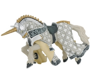 Papo Weapon Master Unicorn Horse 39916