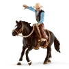 Schleich Saddle Bronc Riding with Cowboy 41416