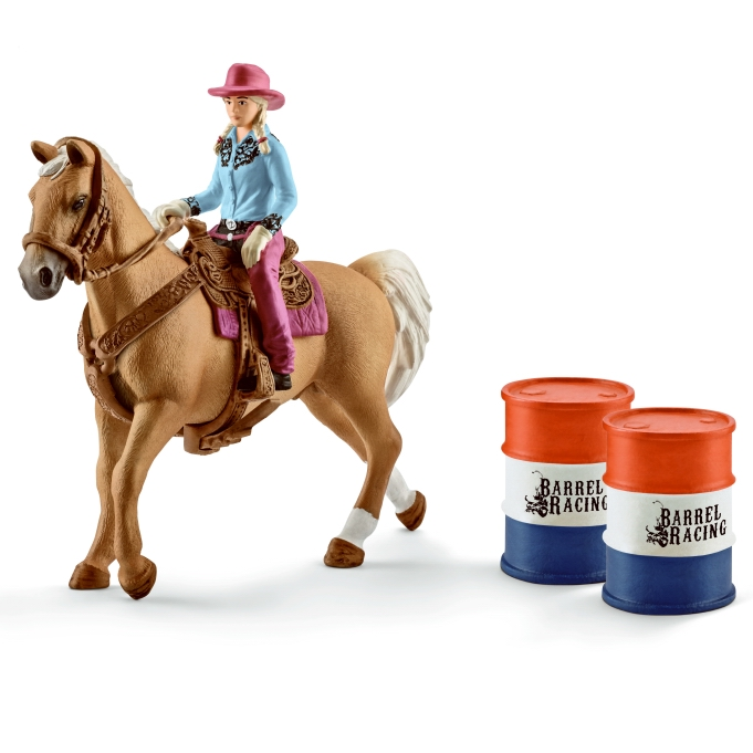 Schleich Barrel Racing Cowgirl 41417
