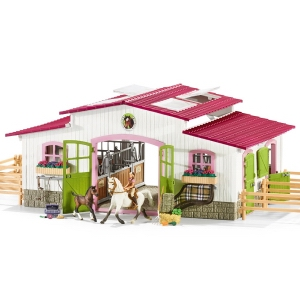 Schleich Riding Centre with Rider & Horses 42344