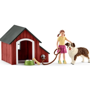 Schleich Dog Kennel 42376