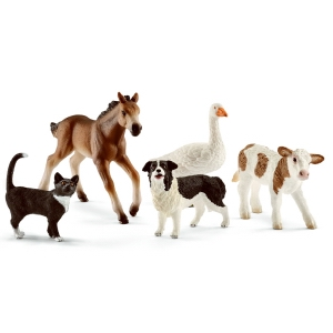 Schleich Farm Animals 42386