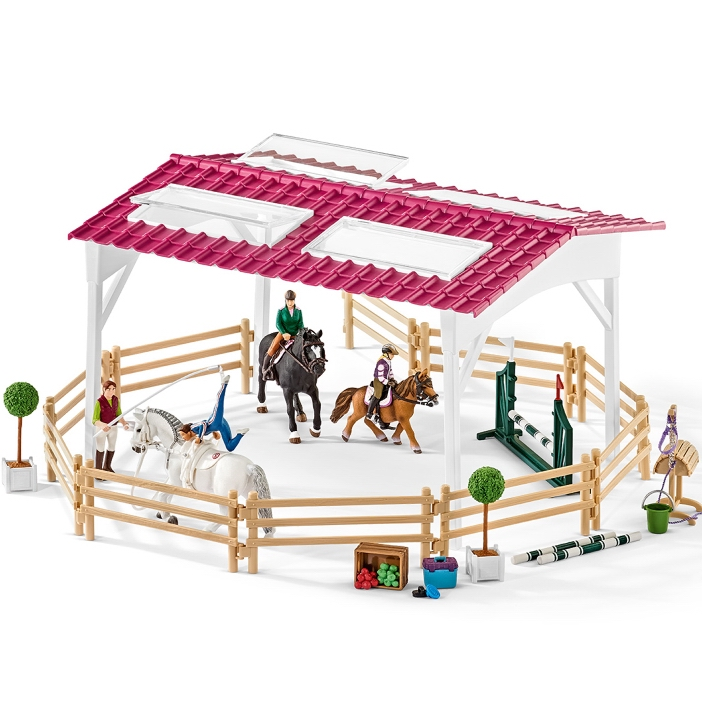 Schleich Riding School with Riders & Horses 42389