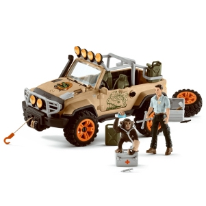 Schleich 4 x 4 Vehicle with Winch 42410