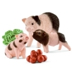 Schleich Mini Pig Mother & Piglets 42422