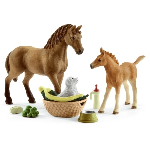 Schleich Sarah's Baby Animal Care 42432