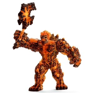 Schleich Lava Golem with Weapon 42447