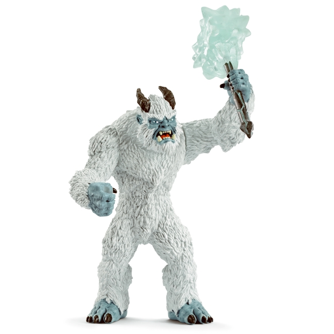 Schleich Ice Monster with Weapon 42448