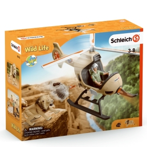 Schleich Animal Rescue Helicopter 42476