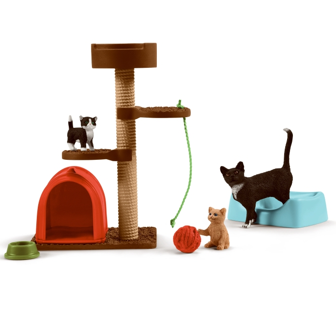 Schleich Playtime for Cute Cats 42501