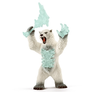 Schleich Blizzard Bear with Weapon 42510
