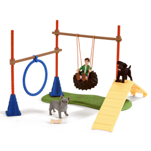 Schleich Puppy Agility Training 42536