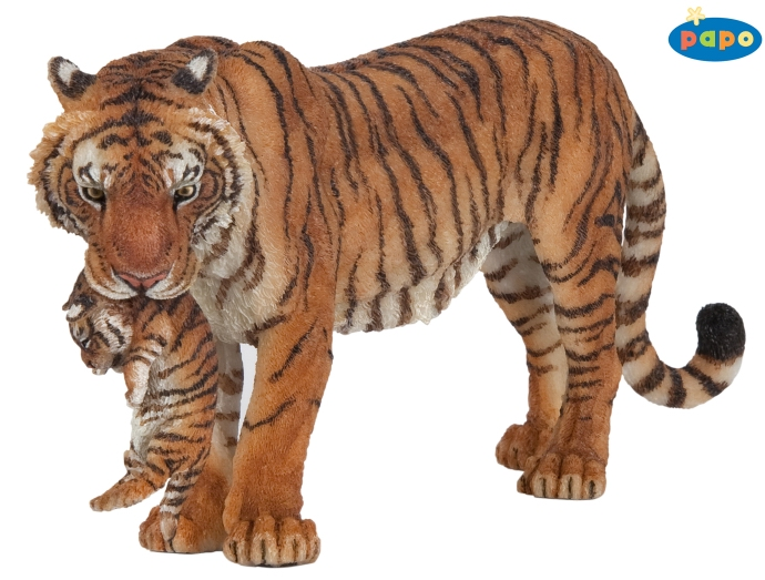 Papo Tigress with Cub 50118