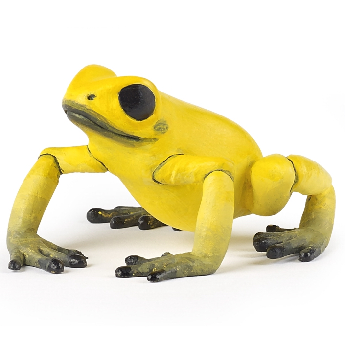 Papo Equatorial Yellow Frog 50174