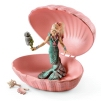 Schleich Mermaid Shell with Baby Seal 70564