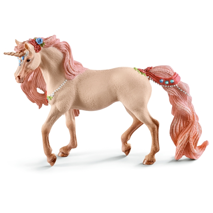 Schleich Decorated Unicorn Mare 70573