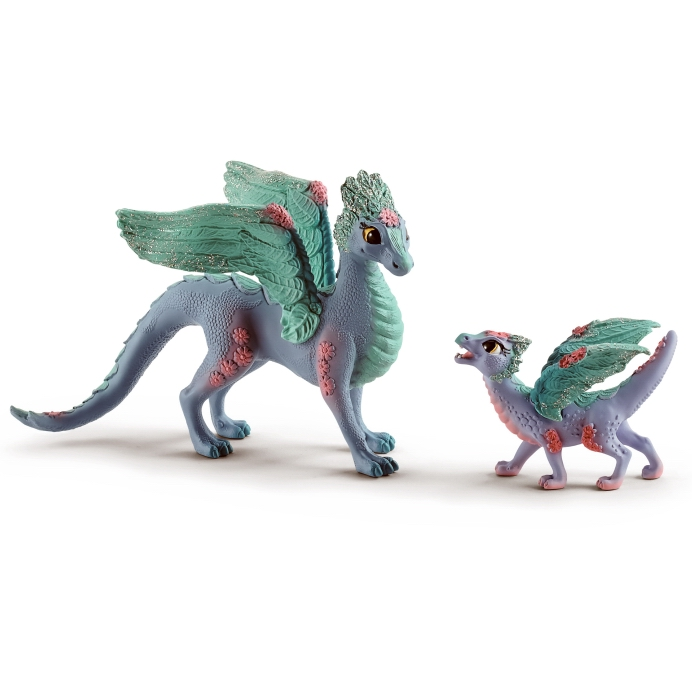 Schleich Flower Dragon & Baby 70592