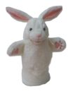 White Rabbit Glove Puppet
